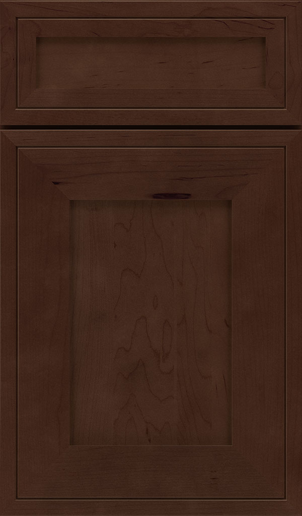 Airedale 5-Piece Maple Shaker Style Cabinet Door in Bombay