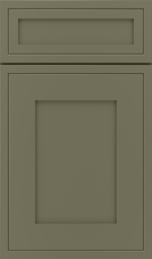 Airedale 5-Piece Maple Shaker style cabinet door in Sweet Pea