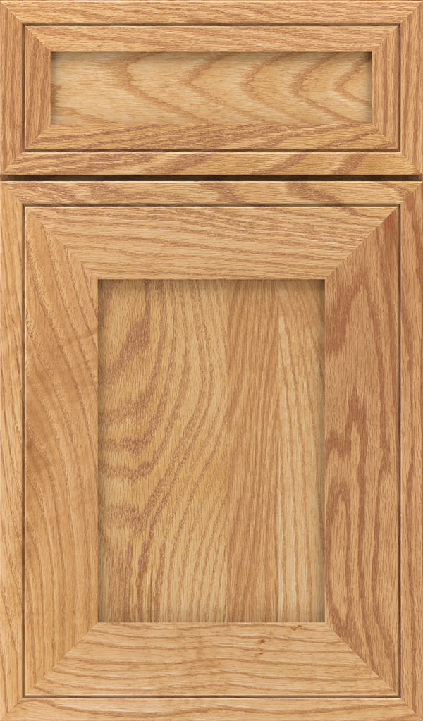 Airedale 5-Piece Oak Shaker Style Cabinet Door in Natural