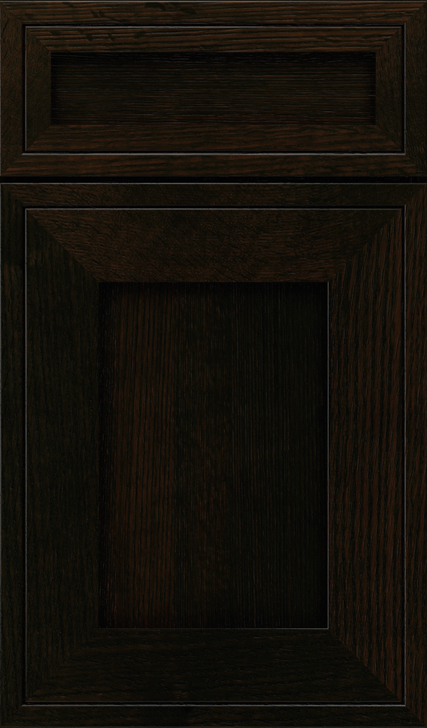 airedale_5pc_quartersawn_oak_shaker_style_cabinet_door_sumatra