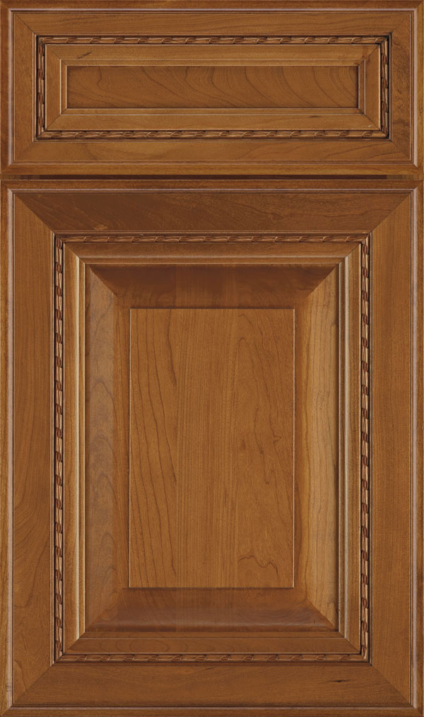Avignon 5-Piece Cherry Raised Panel Cabinet Door in Pheasant