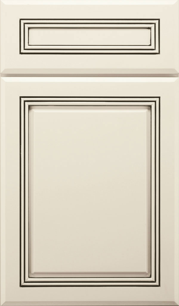 Cambridge 5-Piece Maple Raised Panel Cabinet Door in Chantille Espresso