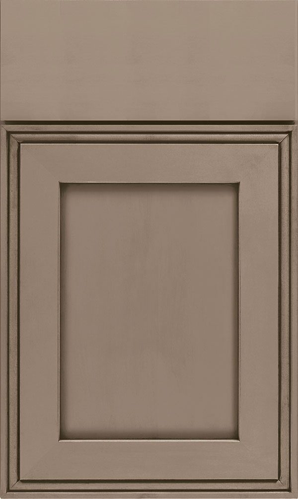 Daladier Maple Recessed Panel Cabinet Door in Angora