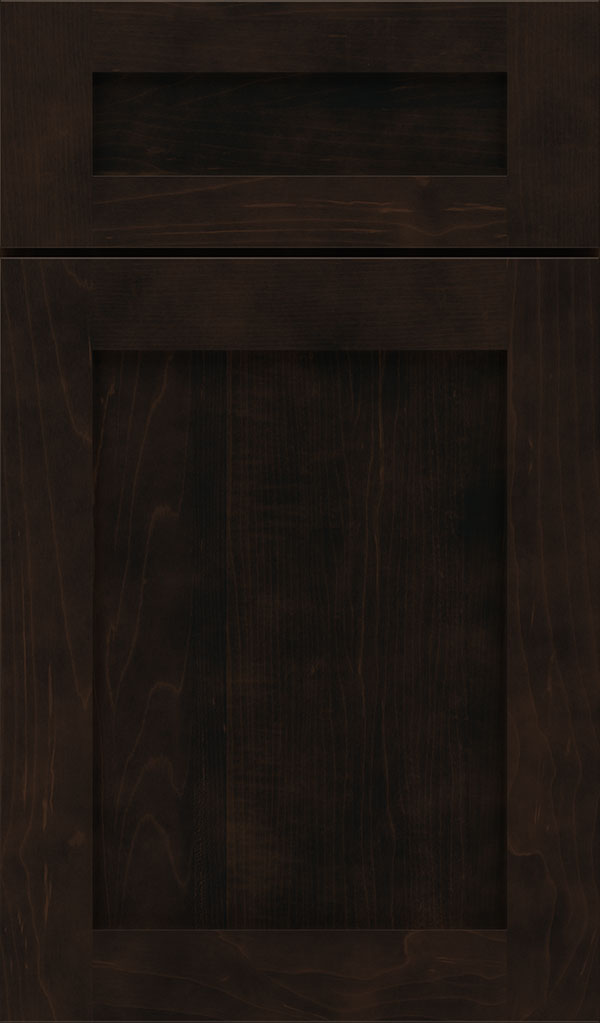 Harmony 5-Piece Maple Shaker Cabinet Door in Teaberry