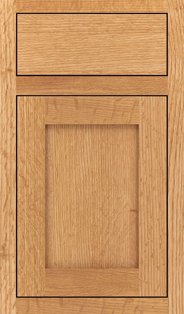Harmony Quartersawn Oak Inset Cabinet Door in Natural