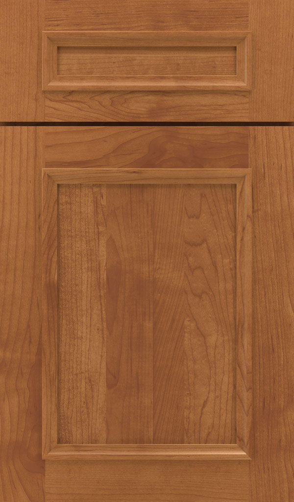 Haskins 5-Piece Maple recessed panel cabinet door in Suede