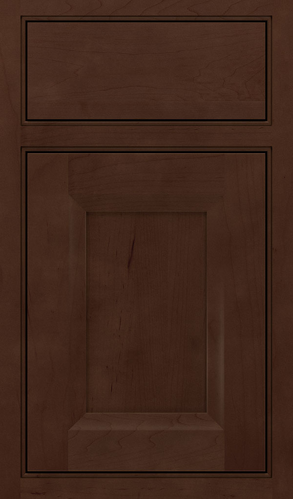 Huchenson Maple Beaded Inset Cabient Door in Bombay