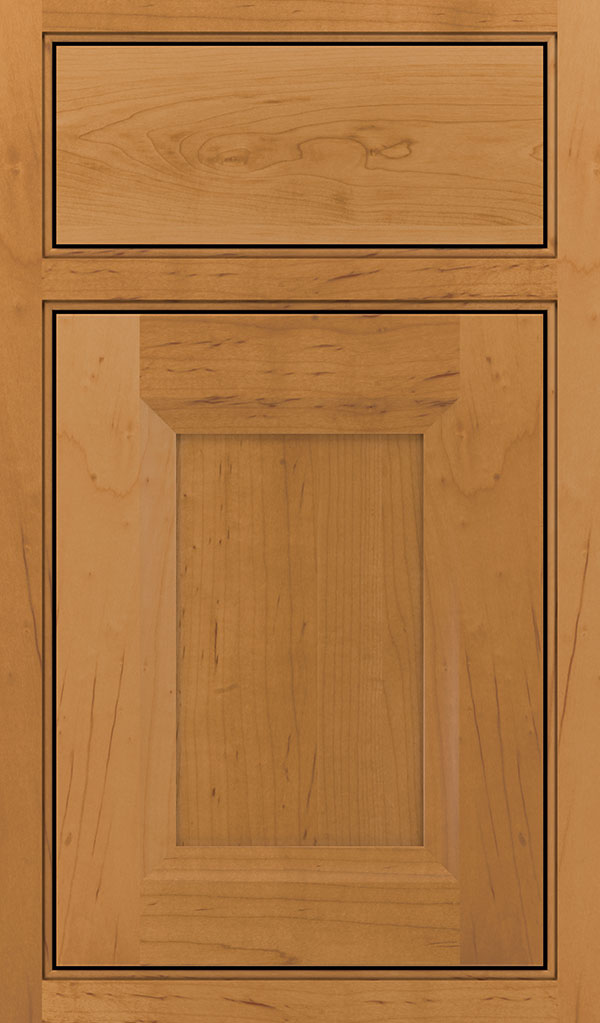 Huchnson Maple Beaded Inset Cabinet Door in Pheasant