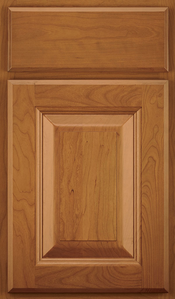 Madison Cherry Raised Panel Cabinet Door in Pheasant