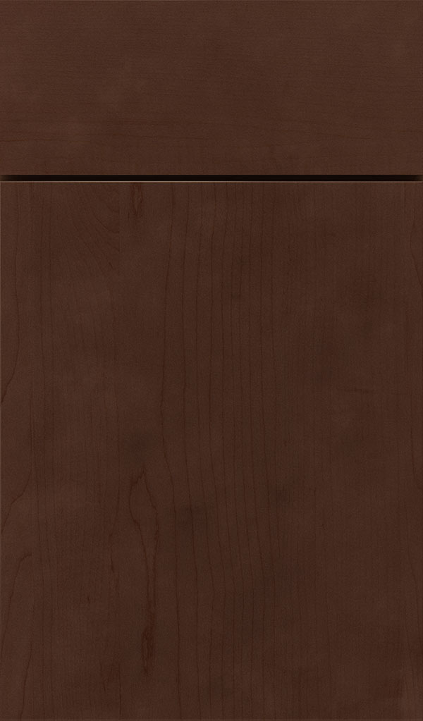 Marquis Maple Slab Cabinet Door in Bobmay