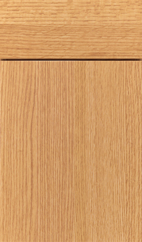 Marquis Quartersawn Oak Slab Cabinet Door in Natural