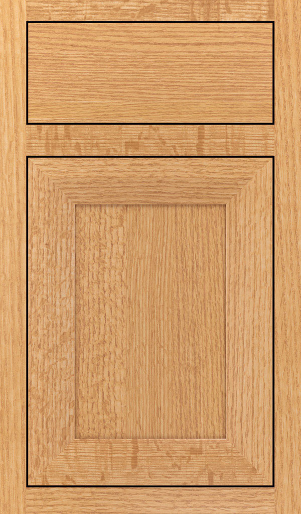 Modesto Quartersawn Oak Inset Cabint Door in Natural