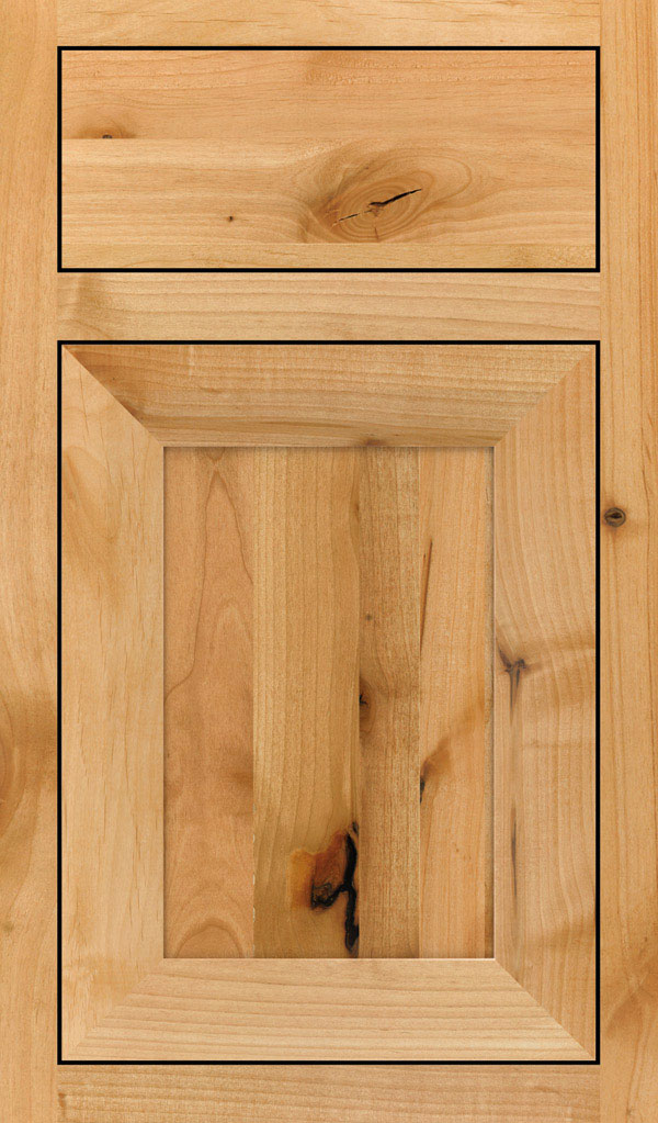 Modesto Rustic Alder Inset Cabint Door in Natural