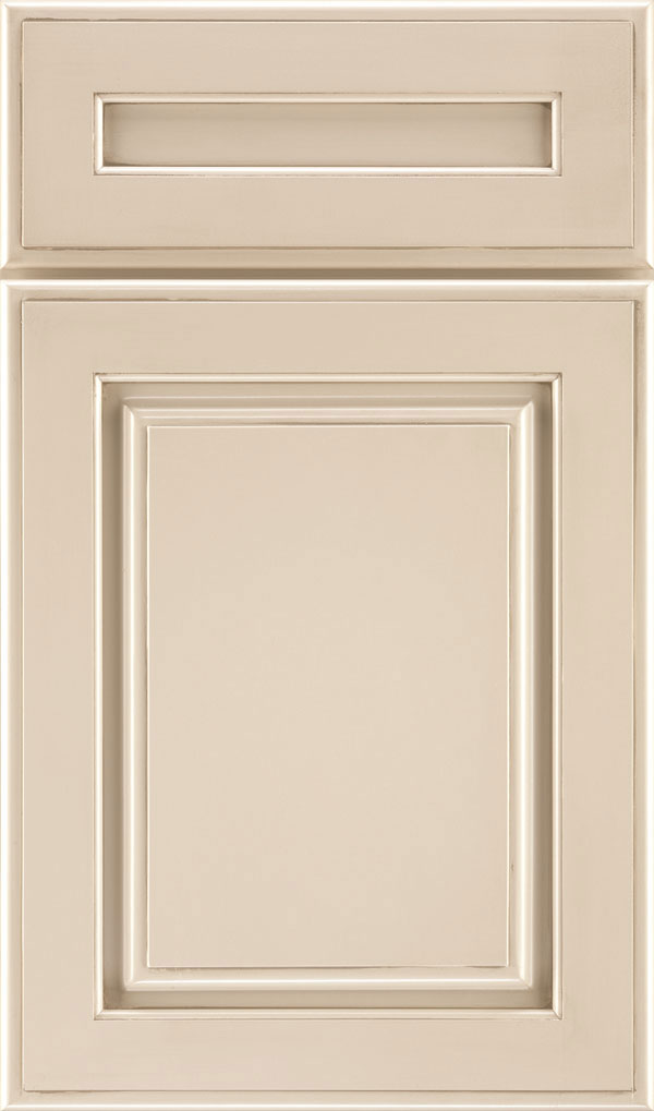 Plaza 5 Piece Maple Raised Panel Cabinet Door in Lunar Twilight