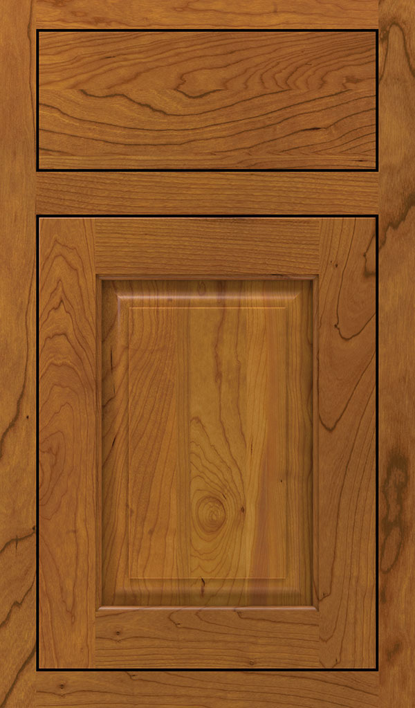 Plaza Cherry Inset Cabinet Door in Pheasant