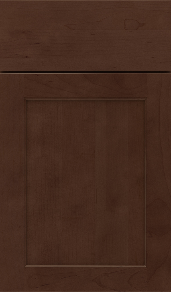 Prescott Maple Flat Panel Cabinet Door in Bombay