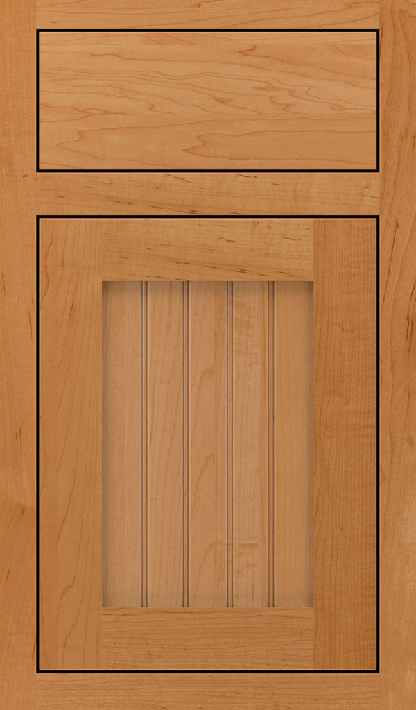 Simsbury Maple Inset Cabinet Door in Wheatfield