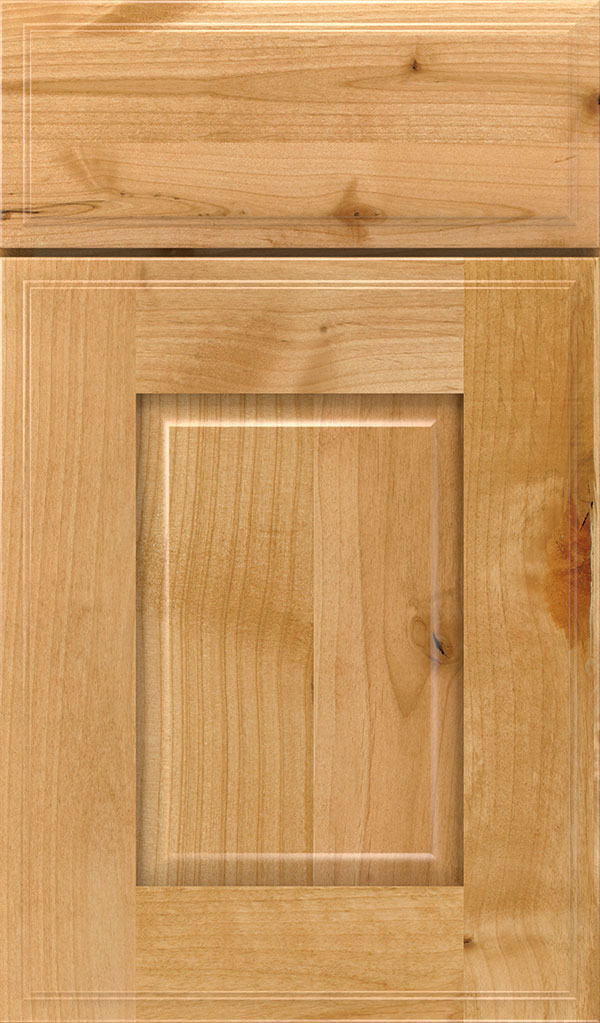 Toulan Rustic Alder Raised Panel Cabinet Door in Natural