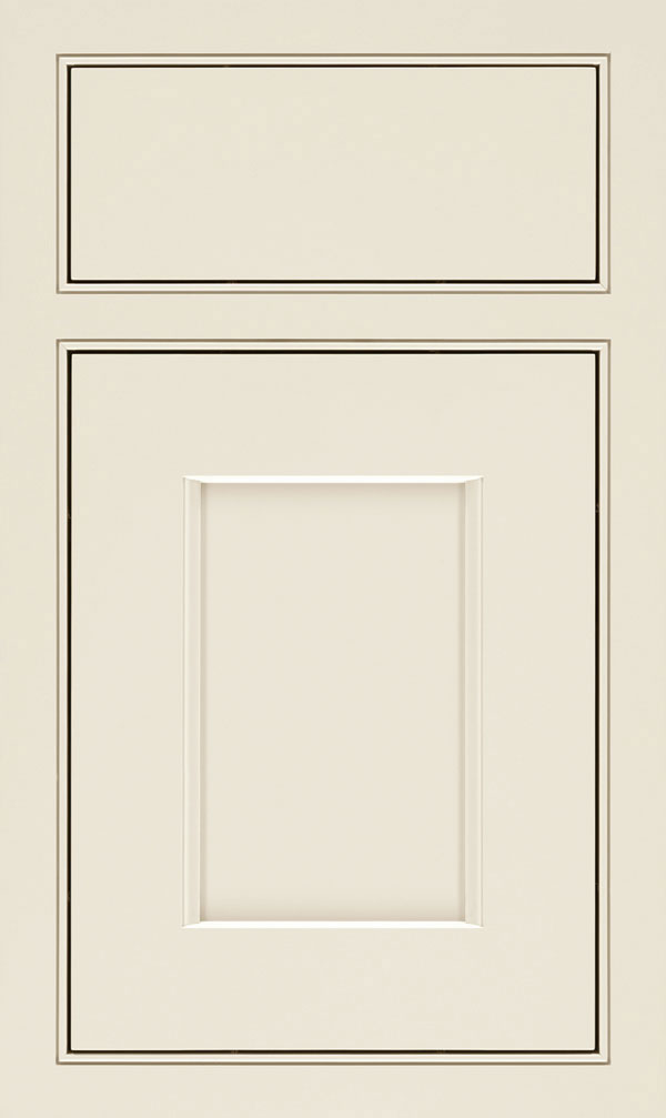 Treyburn Maple Beaded Inset Cabinet Door in Chantille