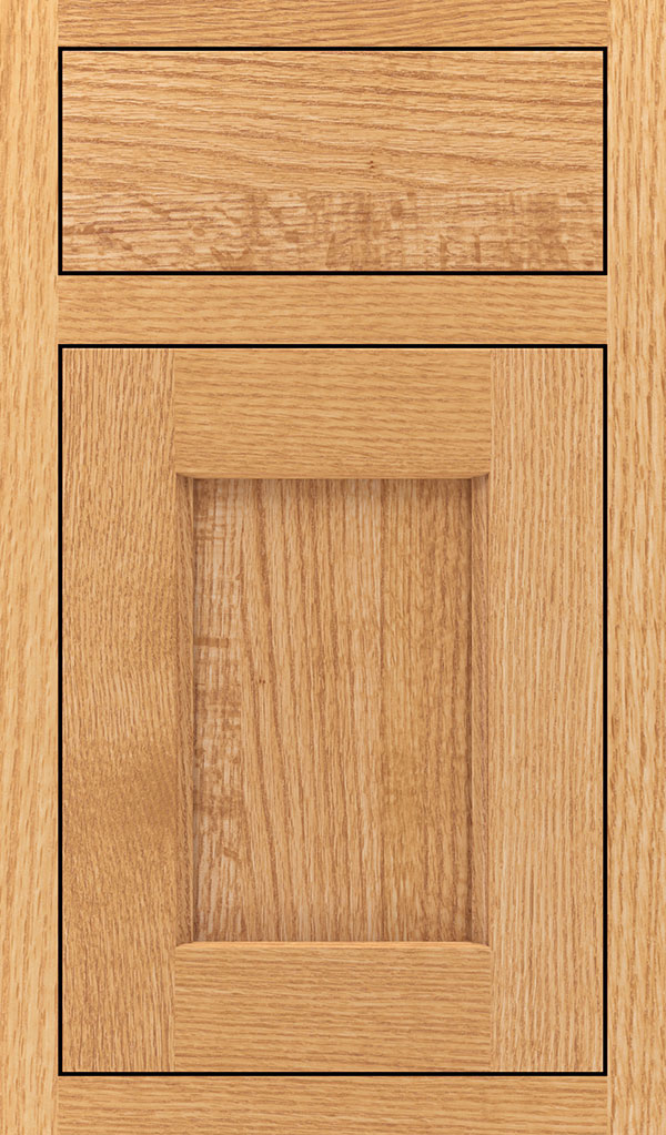 Treyburn Quartersawn Oak Inset Cabinet Door in Natural