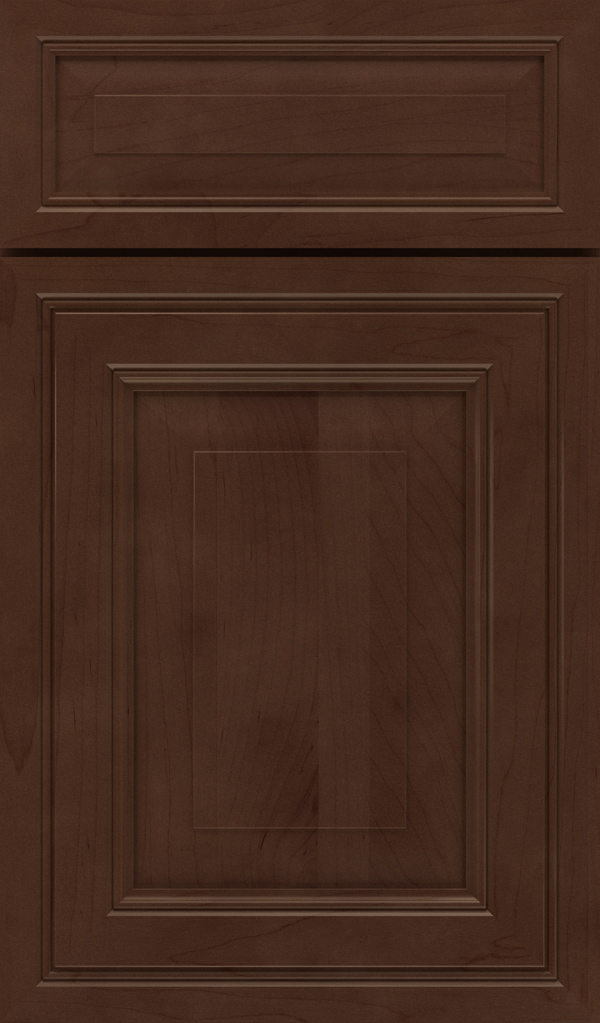 Willshire 5 Piece Maple Raised Panel Cabinet Door in Bombay