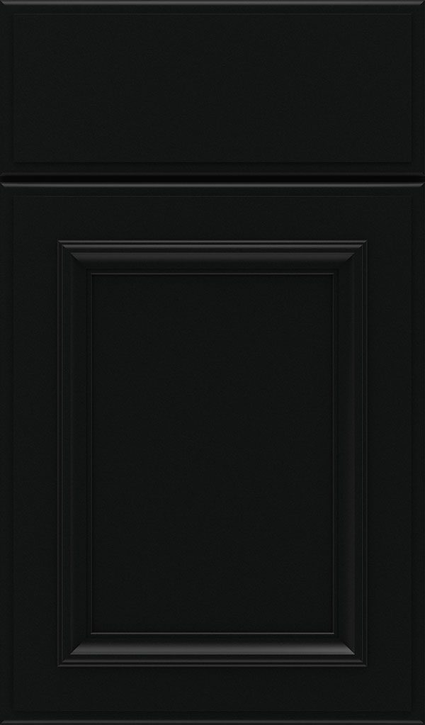 Yardley Maple Raised Panel Cabinet Door in Jet