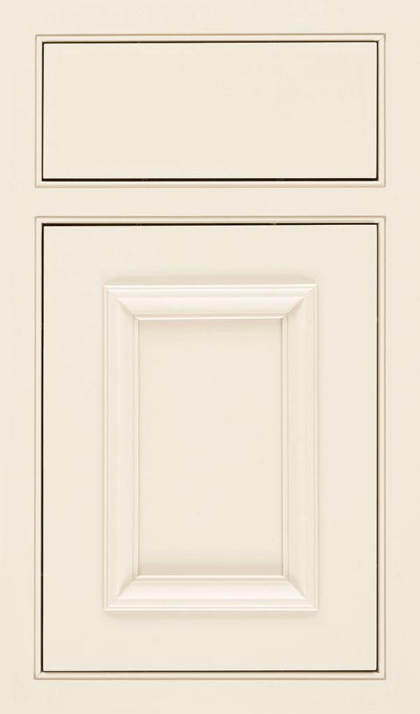 Yardley Maple Inset Beaded Cabinet Door in Chantille