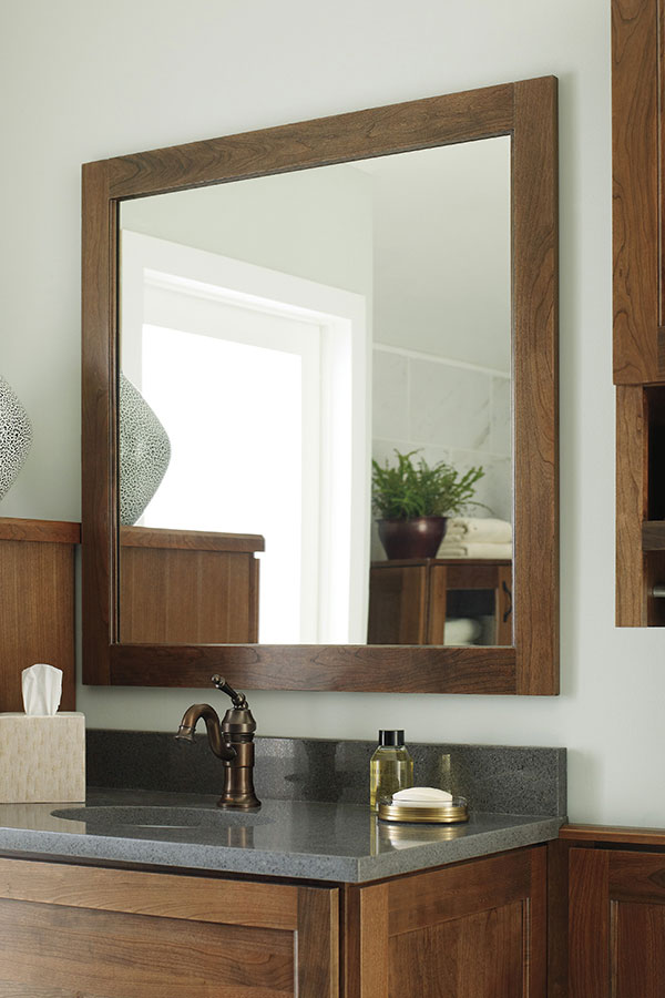 Bath Framed Wall Mirror