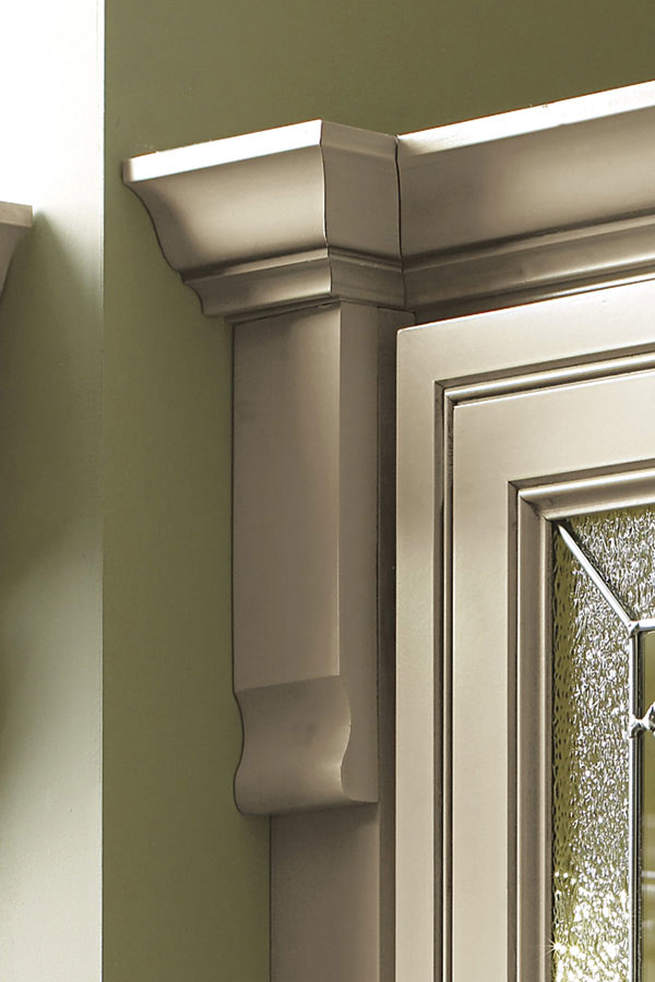 Capital Block Cabinet Moulding