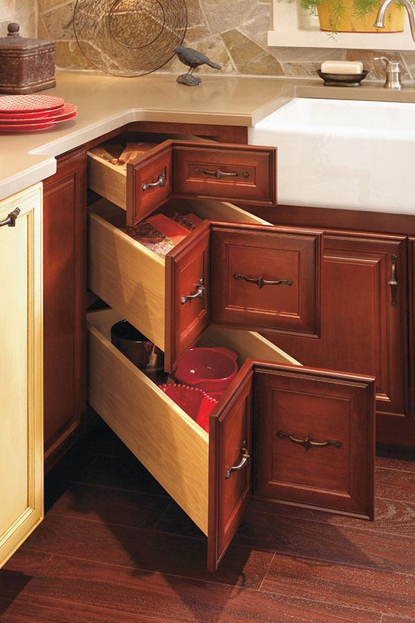Corner Drawer Cabinet