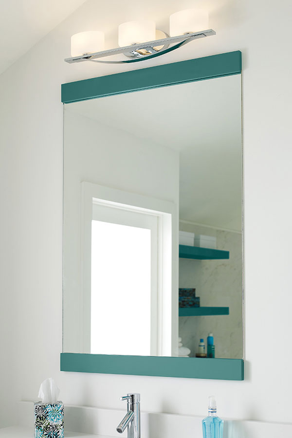 Bath Channel Wall Mirror