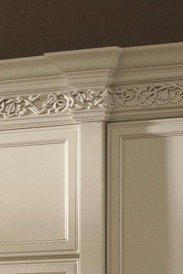Enkeboll Cabinet Moulding Art Nouveau